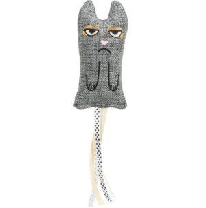 Kattenspeeltje XXL met Franjes grijs