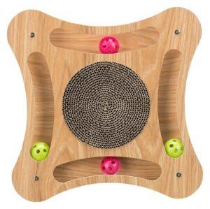 krabkarton met houten frame