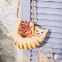 Hangend katten plantenpotje